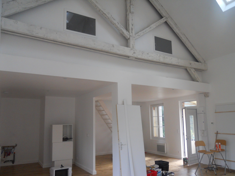 Travauxtranquil r novation d une maison et am nagement for Renovation maison