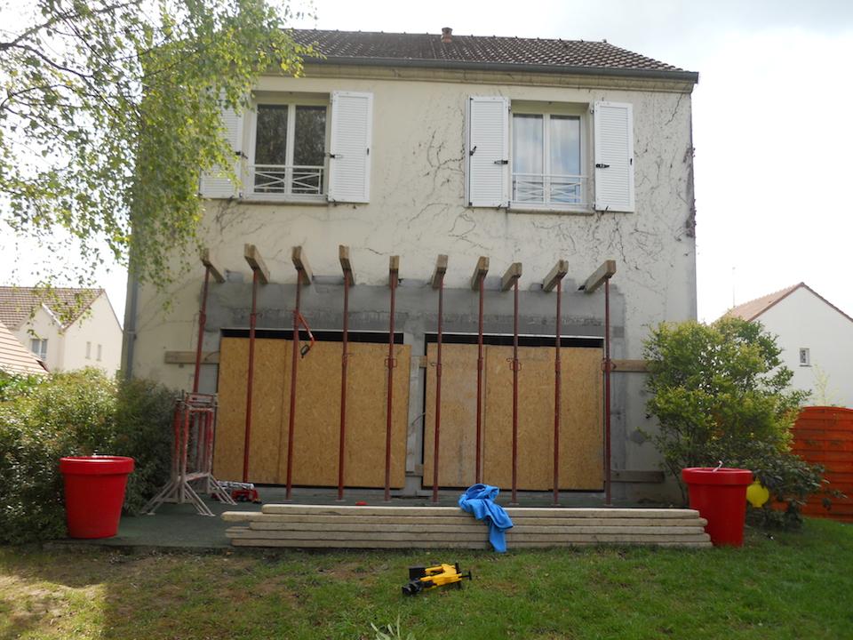 Travauxtranquil agrandissement d ouvertures et finition for Extension maison orleans