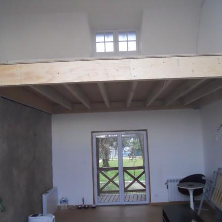 Courtier en travaux : création d'une mezzanine à Saint Jean de Braye, avec Travaux Tranquil