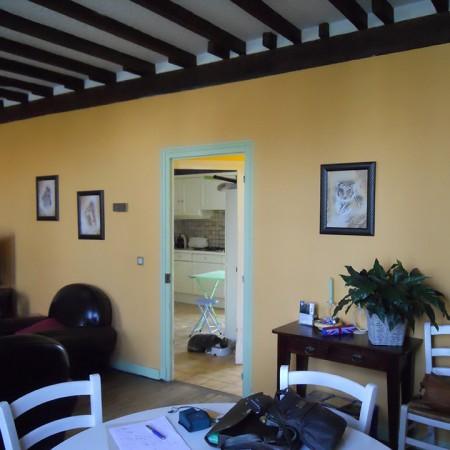 Courtier en travaux : ouverture entre une cuisine et un séjour à Orléans, avec Travaux Tranquil