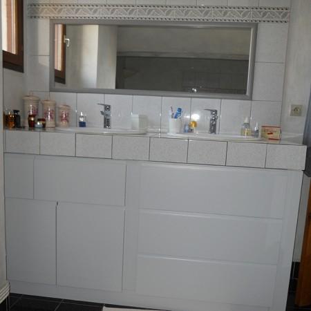 Courtier en travaux : rénovation d'une salle de bain à Orléans, avec Travaux Tranquil