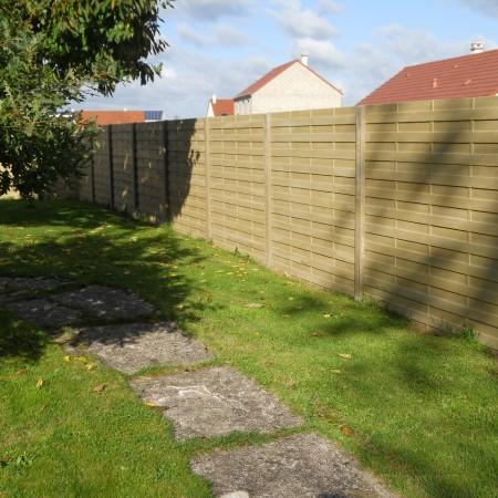 Courtier en travaux : création d'une clôture à Meung-sur-Loire, avec Travaux Tranquil